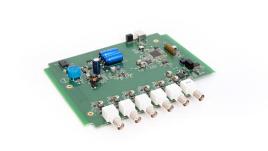 Kundenspezifischer 6-kanaliger Audio Analyzer mit Echtzeit Signalverarbeitung