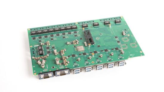 Industrie PC für mobilen Einsatz an Fahrzeugen